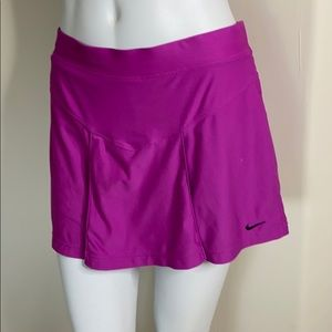 Nike Dri-fit Purple athletic skirt built-in shorts
